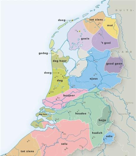 Goed voorbereid op vakantie in eigen land met lesje dialect van Radboud