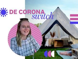 De coronaswitch: studente Klare (19) werkte voorheen in de horeca en heeft nu een eigen glampingbedrijf