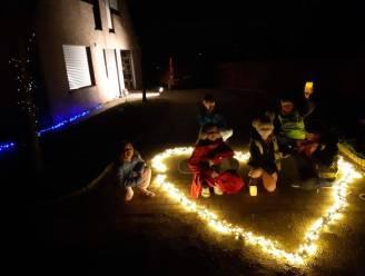 """Honderden gezinnen geven licht in hun straat, """"inwoners met elkaar verbinden vanop afstand was het ultieme opzet van het project"""""""