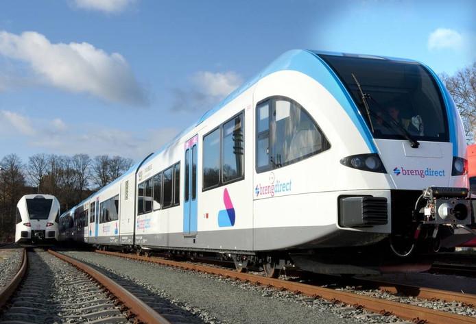 Treinen van Breng. Foto: Jacques Kok