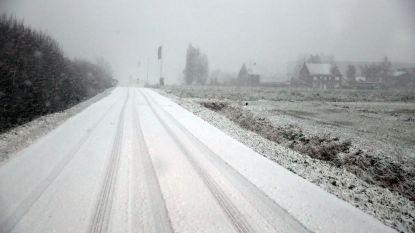 """Tot 5 centimeter sneeuw verwacht, code geel tot morgenvroeg van kracht: """"KMI waarschuwt voor gladheid"""""""
