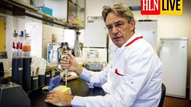 """LIVE. Herman Goossens trekt aan alarmbel: """"Zeer zorgwekkende toename Britse variant"""" - Nog meer scholen sluiten de deuren na besmetting"""