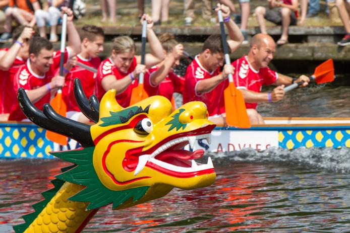 Drakenbotenfestival in Helmond. foto Paul Verhees