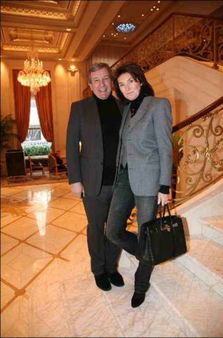 Cécilia Ciganer-Albeniz en de multimiljonair Richard Attias.