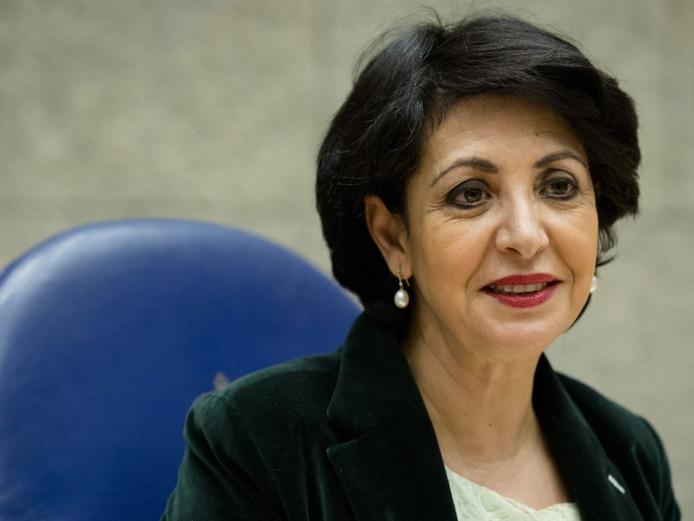 Kamervoorzitter Khadija Arib (PvdA).