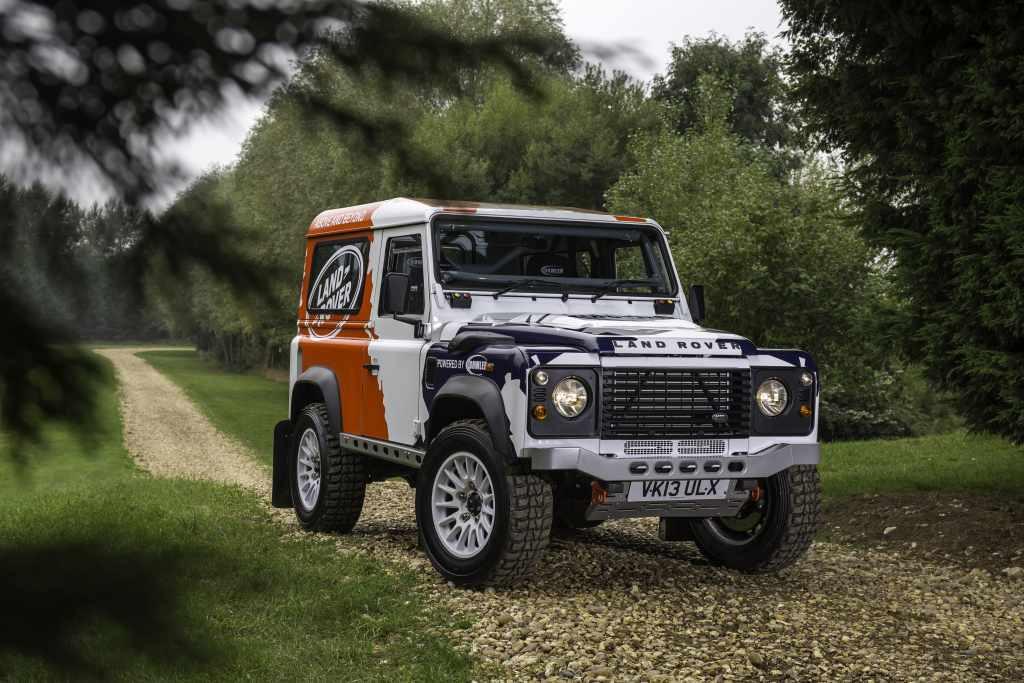 Land Rover Bowler.