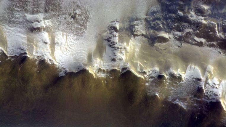 Een van de foto's van de Europees-Russische sonde ExoMars.
