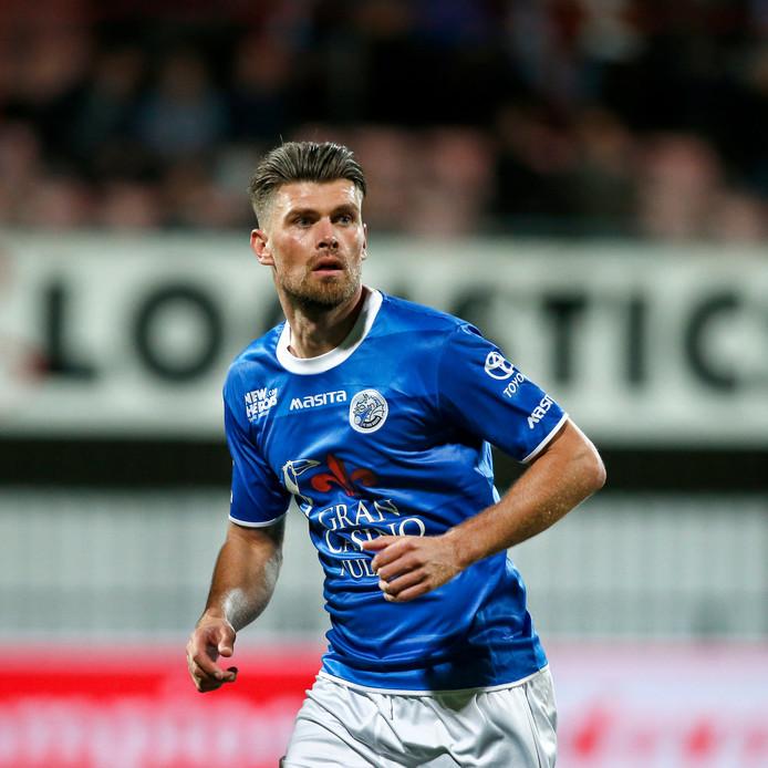 Danny Holla speelde vorig jaar bij FC Twente.