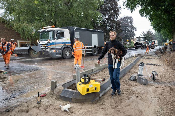 Landelijk steeg met name het aantal vacatures in de weg- en waterbouw.