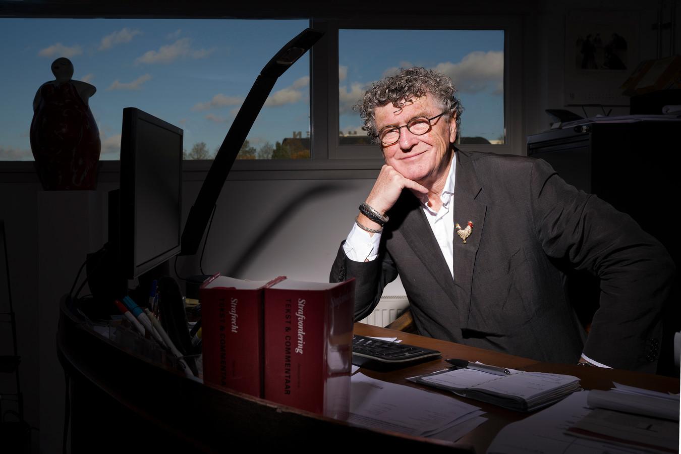Pieter van der Kruijs, éx-advocaat. ,,Ik was die vieze, vuile advocaat van die kutpedo, Benno L.