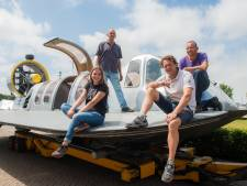 Drimmelense hovercraft zal niet naar Rotterdam varen