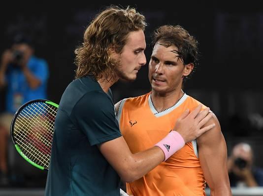 Tsitsipas delft het onderspit tegen Nadal in de finale van de Australian Open.