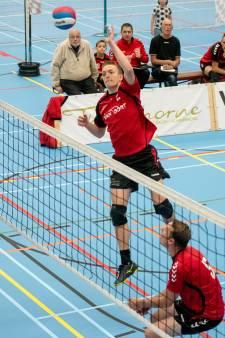 Volleyballers Rebelle worstelen met 'mindgame'