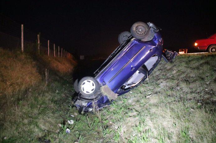 Een eenzijdig ongeval op de A32.