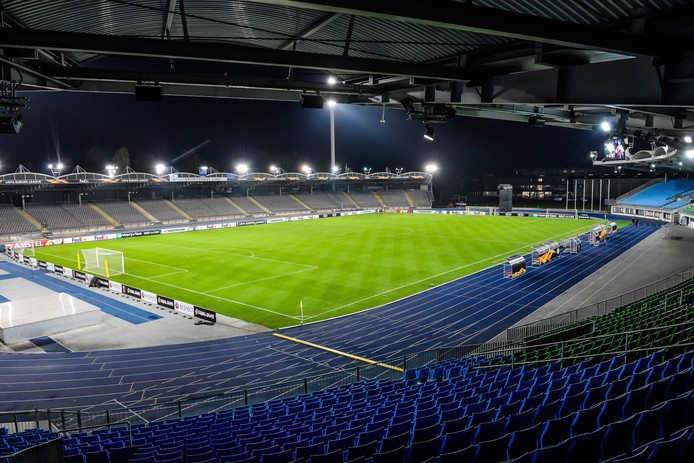 Het Linzer Stadion is donderdagavond uitverkocht.