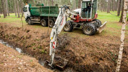 Provincie reinigt waterwegen  in het Hageland