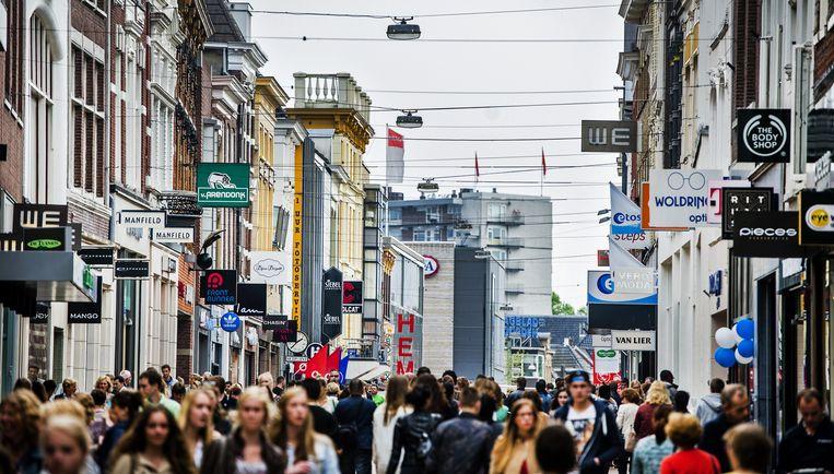 De Herestraat in Groningen. Beeld anp