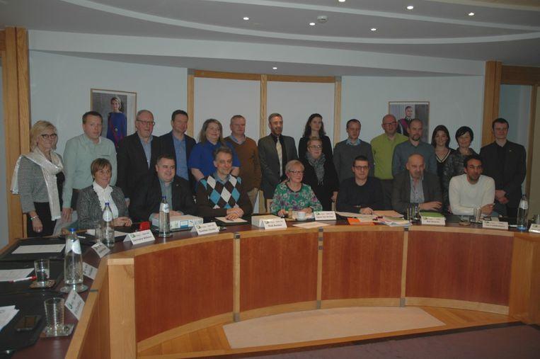 De voltallige gemeenteraad van Tielt-Winge
