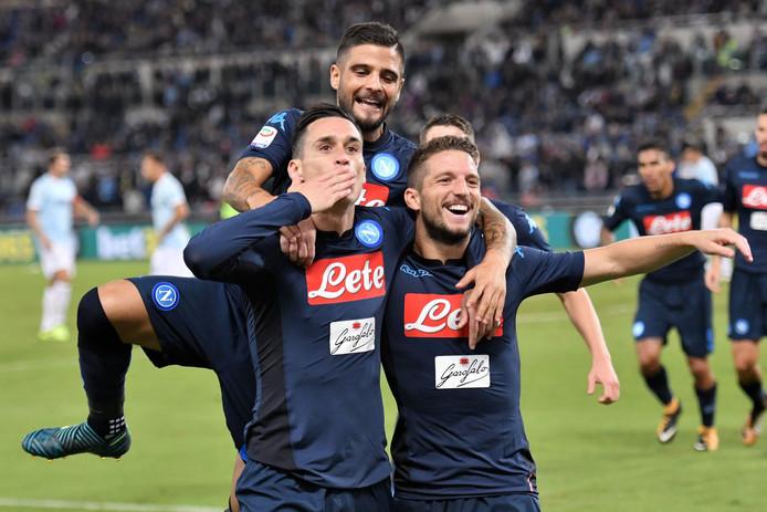 Napoli gaat zaterdagavond opnieuw op bezoek in Rome, waar het vorige maand al met 1-4 won van Lazio. Nu wacht de kraker tegen AS Roma.