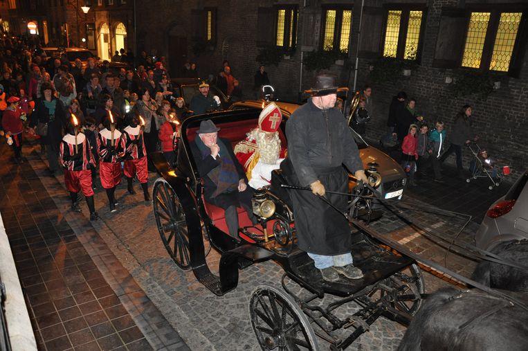 De  Sint-Maartenstoet in Veurne
