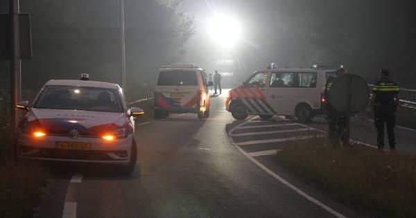 Gewonde na ongeval tussen auto en een persoon op N347 bij Nijverdal.