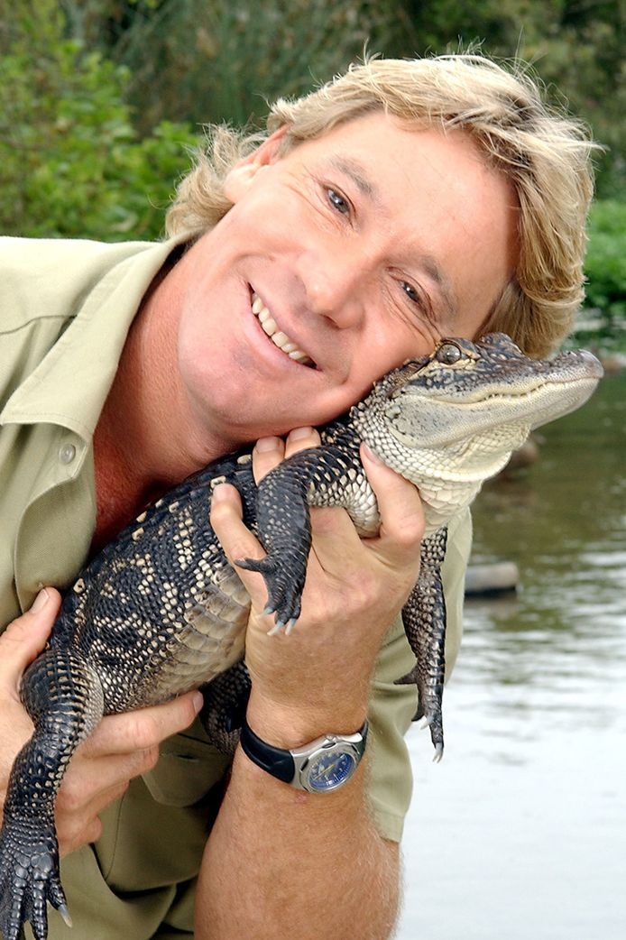 'Krokodillenjager' Steve Irwin.