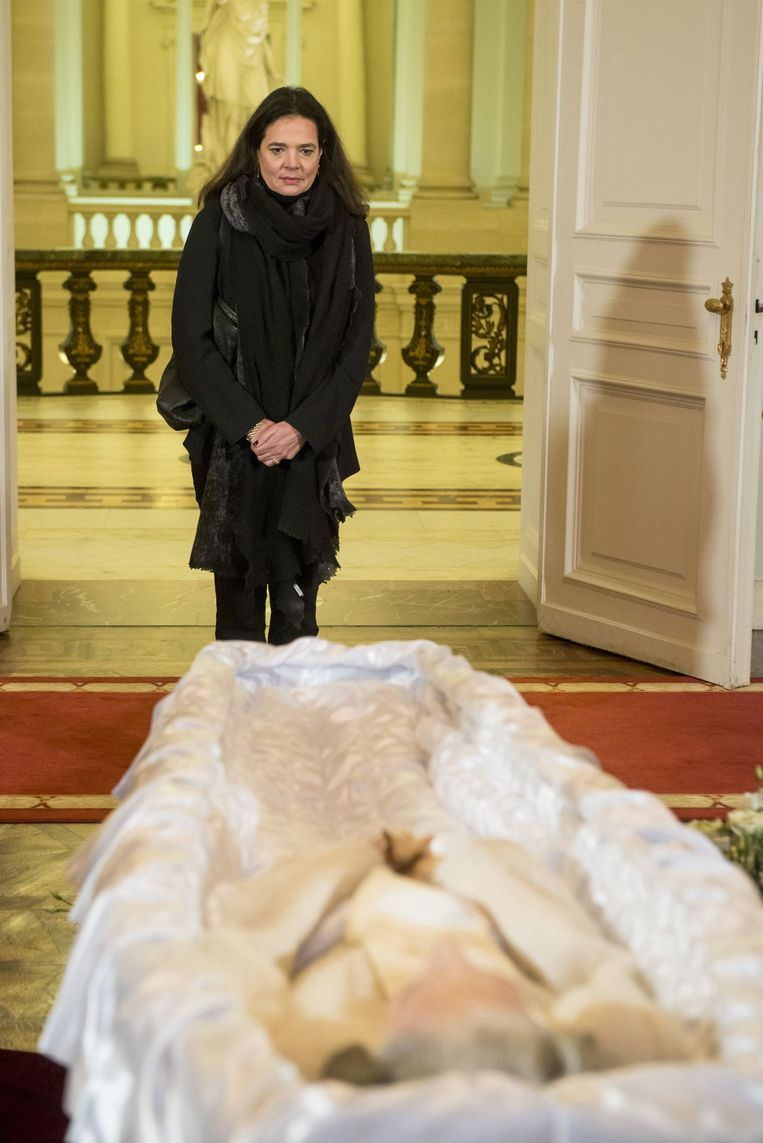 Senaatsvoorzitter Christine Defraigne (MR).