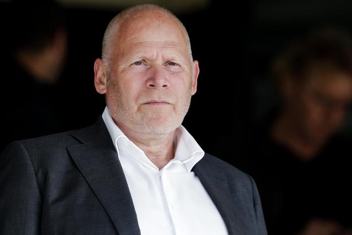 Hans de Zeeuw, voorzitter van FC Dordrecht.