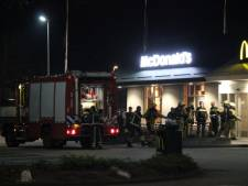 Brand op toilet van McDonalds in Holten