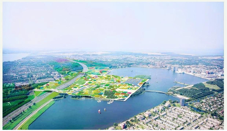 Impressie van de Floriade 2022 in Almere.