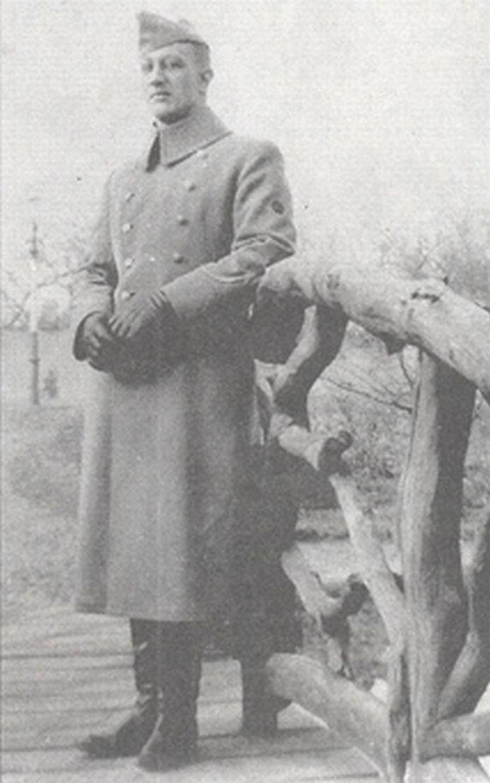 Chris Meijer, kort voor de oorlog.