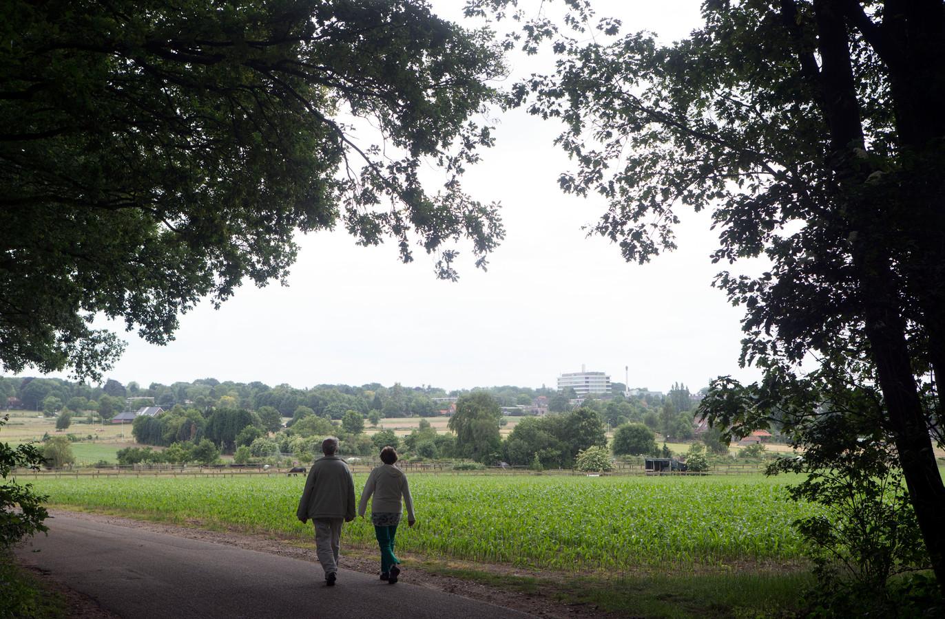 De Wageningse Eng is een open landschap met divers gebruik aan de oostkant van de stad