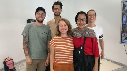 Alumni van Sint Lucas Antwerpen vertrokken naar Palestina voor een summerschool rond productontwikkeling