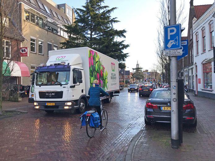 Parkeerzone aan de Utrechtseweg in Amersfoort