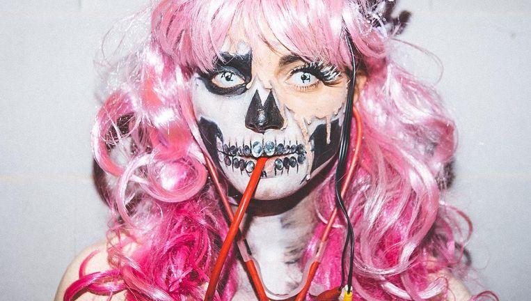 A Mokum Halloween Story is een uitgelezen aangelegenheid je zo extreem mogelijk op te doffen. Beeld Kirsten van Santen
