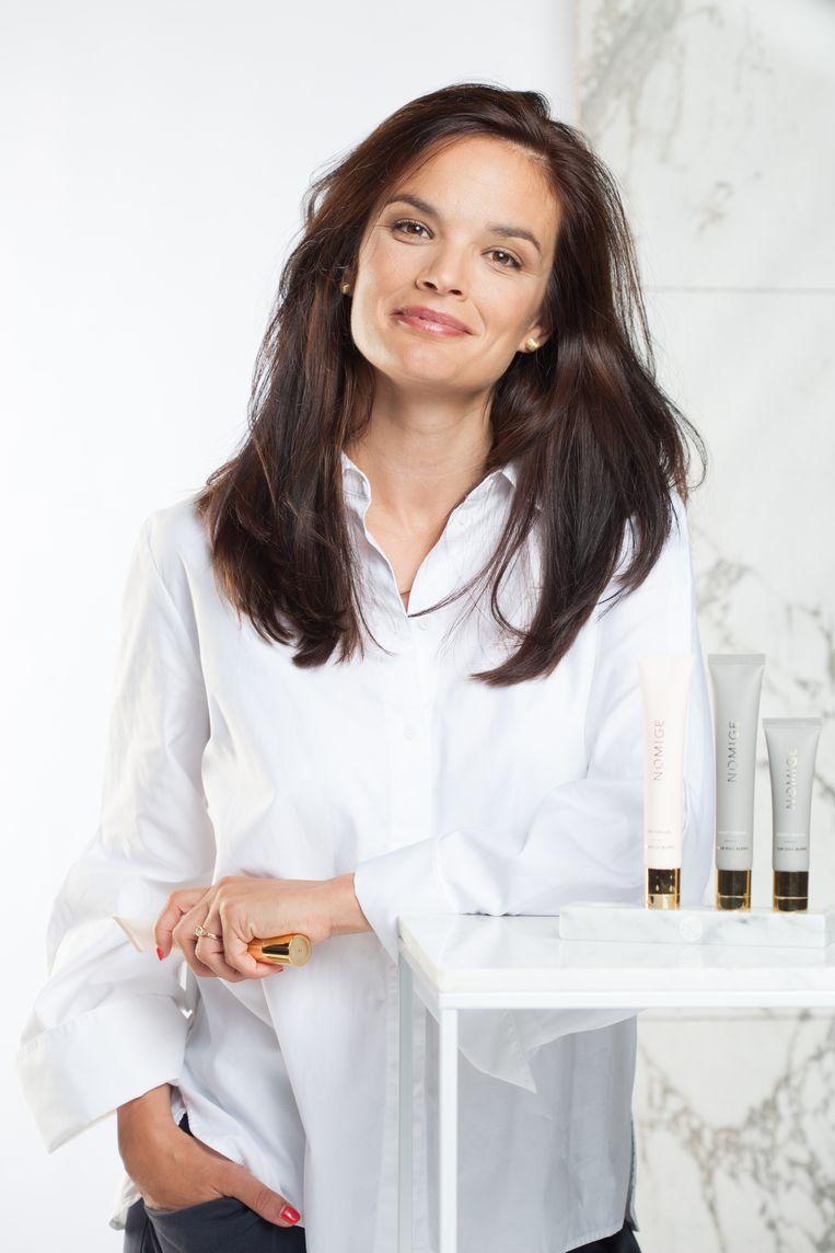 Barbara Geusens (36) is biotechnoloog en doctoreerde in de dermatologie. Zij ontwikkelde Nomige, skincare op basis van je DNA.