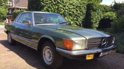 Autodieven verpesten laatste wens van overleden Mercedes-fan