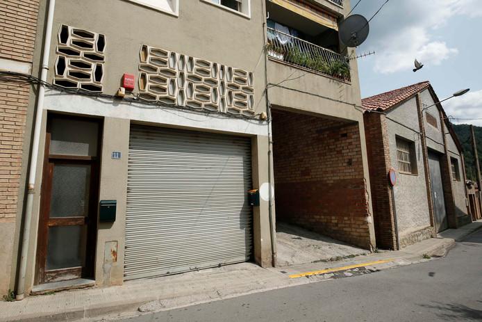 Het gebouw in Ripoll dat door imam Abdelbaki es Satty werd gebruikt als moskee.
