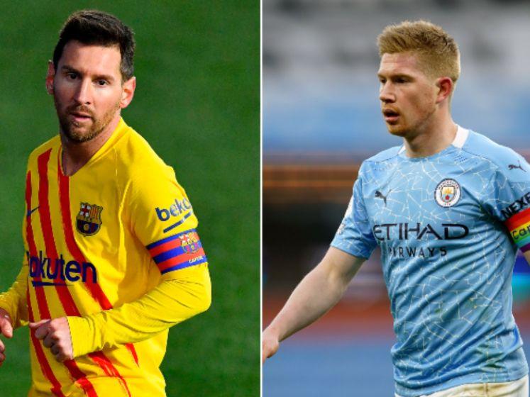 Alleen Messi doet nog iets beter dan De Bruyne: de twee assistkoningen tegenover elkaar afgewogen