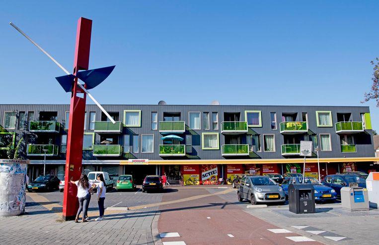 De wijk Poelenburg in Zaanstad. Beeld anp