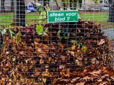 Geen bladkorven meer in Tilburg