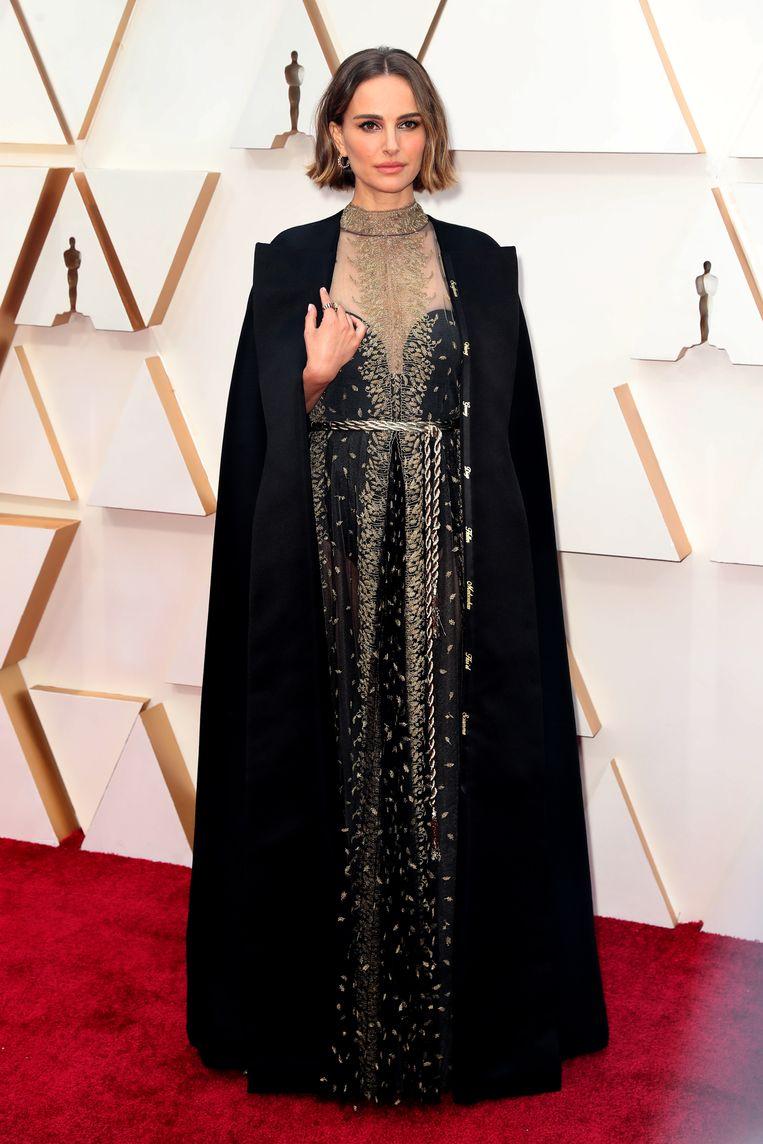 Natalie Portman in haar Oscarjurk.
