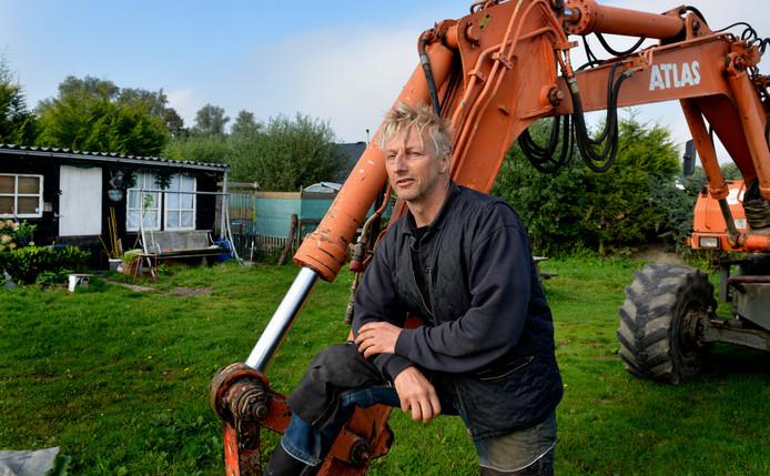Bert van Doorn vindt dat de gemeente hem meer tijd had moeten geven de camping te ontruimen.