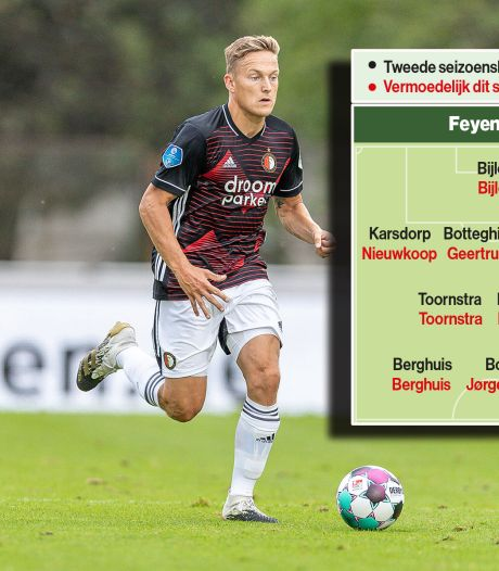 De spoeling is achterin dun, met Berghuis is Feyenoord sterk collectief met scorend vermogen