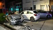 Zware crash met drie voertuigen in Aartselaar: twee gewonden