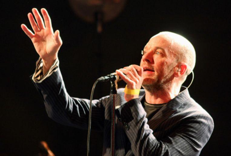 Het South by Southwest (SXSW) festival in Austin, Texas was een succes. Michael Stipe en zijn band R.E.M. traden woensdagnacht op. (AP) Beeld