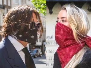 """""""Je n'étais pas le monstre"""", Johnny Depp se défend au tribunal face à Amber Heard"""