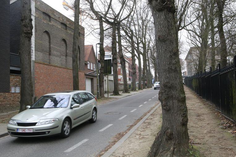 De Astridvest is een van de weinige Tiense straten met een vrouwelijke naam.
