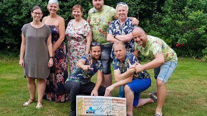 'Faute Fanbal'brengt 3.000 euro op voor 'Geraakt door Annelies'