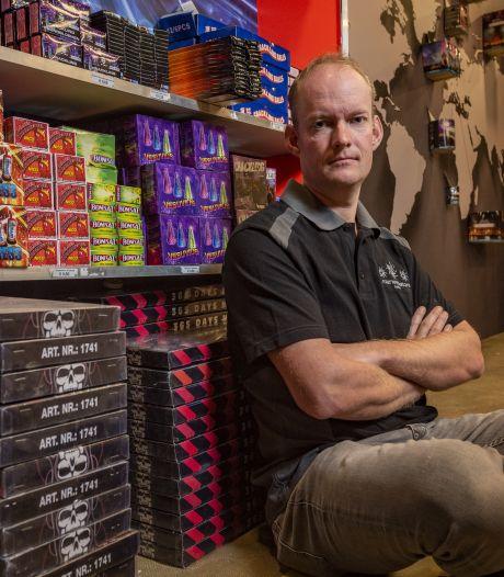 Vuurwerkverkopers vrezen faillissement bij verbod, 'geen kans om gemis goed te maken'